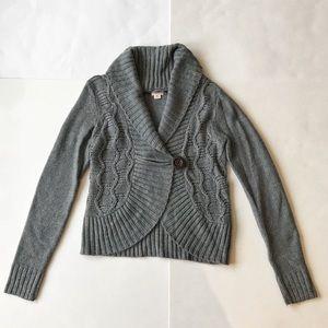 Mossimo Supply Co women's small gray sweater